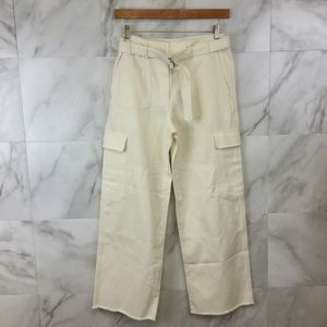 Helmut Lang Oversized Twill Cargo Pants - size 8